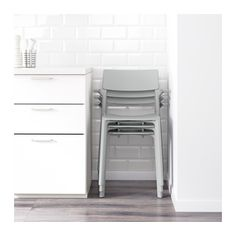 Dining char. Love the stacking for the kitchen     JANINGE Armchair  - IKEAkit