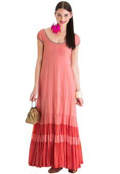Priyadarshini rao for stylista MidsummerS Dream Maxi Dress Pink