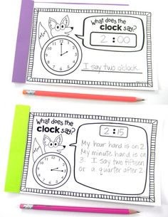 Easy And Fun Clock Activities For Kids Clock ActivitiesBack To 42 Modish Clock ActivitiesTelling Time Activities For Teaching Primary Students Clock Activities, After School Routine… Telling Time Games, Telling Time Activities, Teaching Time, Teaching Activities, Hands On Activities, Teaching Math, Teaching Ideas, Time Games For Kids, Second Grade Math