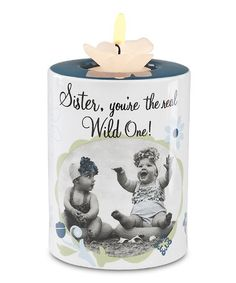 Take a look at this 'Sister' Candleholder by Pavilion Gift Company on #zulily today!