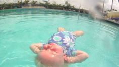 Infant Swimming Resource Self-Rescue™ lessons for children 6 months to 6 years - AMAZING! Even 6 month olds can learn to roll onto their back to float, rest and breathe, and to be able to maintain this life-saving position until help arrives.