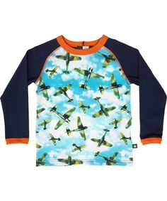 Molo Celebrations airplane printed t-shirt #emilea