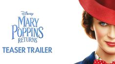 MARY POPPINS RETURNS starring Emily Blunt, Meryl Streep, Colin Firth & Lin-Manuel Miranda | Official Teaser Trailer | In theaters Christmas 2018
