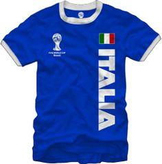 World of Football Ringer T-Shirt Liverpool Old//wei/ß