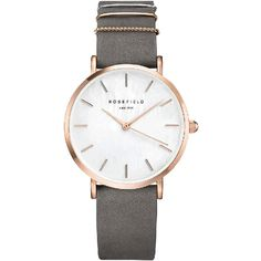 Rosefield The West Village Elephant Grey Rose Gold Horloge West Village, Armband Rosegold, Ring Rosegold, Bracelet Cuir, Bracelet Watch, Casio Edifice, Grey Watch, Grey Roses, Gull