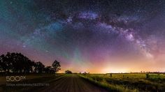 Milky Way Panorama Milky Way Panorama Arch along a country road outside of Minneapolis Image credit: http://ift.tt/29DpbDT Visit http://ift.tt/1qPHad3 and read how to see the #MilkyWay #Galaxy #Stars #Nightscape #Astrophotography