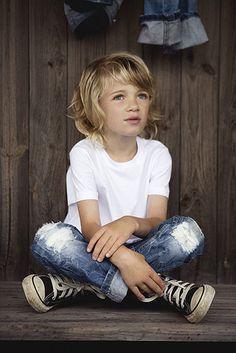 Classic little boy's style.