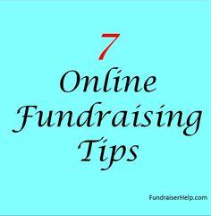 7 online fundraising tips