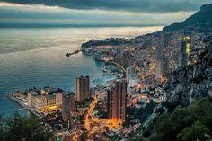 Dusk in Monte Carlo