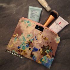 Handmade make up pouch