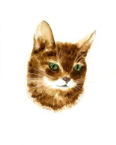 Fiona Cat Art, Illustration Art, Animals, Painting, Pictures, Easy, Gatos, Illustrations, Photos