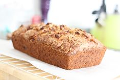 Recipe: Walnut, Squash and Apple Bread