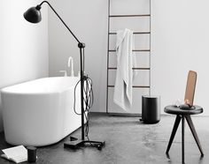 Buy Towel Ladder from Menu. The Towel Ladder is an informal and flexible piece of furniture made for storing towels and accessories in the bathroom - cl.