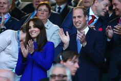 Pin for Later: Will, Kate, and Harry Bring Their Biggest Smiles to the Rugby World Cup