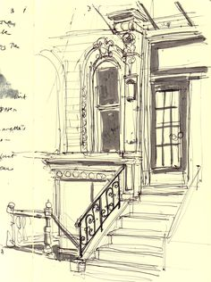 Study of frontage detail
