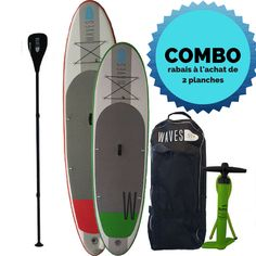 Combo de 2 planches Waves, Skateboard, Sports, Floor, Skateboarding, Hs Sports, Skate Board, Sport, Skateboards