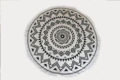 Round towel Aztec