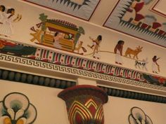 Egyptian Room interior 3