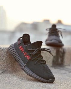 e6e1793c88029d Real 2018 Uk Size 9 4 10 Adidas Factory Materails Yeezy 350 Pirate Bred  Black With Red Letters Basf Sneaker