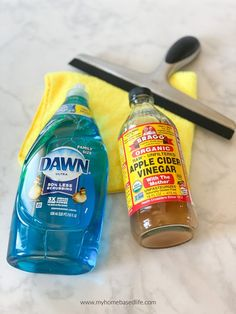 How To Clean Your Windows | My Home Based Life Cleaning Recipes, Cleaning Hacks, Cleaning Supplies, Window Cleaner Recipes, Streak Free Windows, Washing Windows, Dawn Dish Soap, Windows Me, Useful Life Hacks