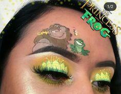 makeup over 40 tutorial makeup dp pic without eye makeup makeup over 60 with glasses makeup without eyeshadow makeup colorful makeup names for eye makeup Makeup Eye Looks, Eye Makeup Art, Crazy Makeup, Eyeshadow Makeup, Skin Makeup, Eye Art, Makeup Inspo, Disney Eye Makeup, Disney Inspired Makeup