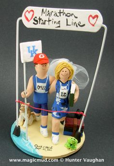 swedish wedding cake toppers 1000 images about marathon runners wedding cake toppers 20687