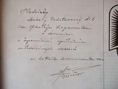 Autograf Mirosława Hernaszewskiego - pierwszego polskiego lotnika kosmonauty