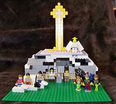 Lego Creche with Star