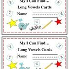 This is set #3 of Read the Room On A Ring! Cards. Included are 12 cards and a cute cover. All about long vowels!  Just copy, cut, hole punch and ring and you are ready to go with an easy to store center that can also be used for early finishers, mini-literacy lessons, and partner activities as well as centers. Students can read the room or search text for words they need.