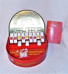 Blue Orange 2010 Double Shutter: Shut the Super Box! Game Tin Ages 8+ #00291 NEW #BlueOrangeGames