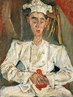 Le petit pâtissier, vers 1923, Chaïm Soutine