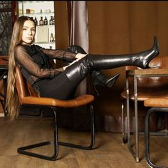 Beige Boots, Black High Boots, Thigh High Boots Heels, High Leather Boots, Stiletto Boots, Long Boots, Heeled Boots, Ladies Leather Boots, Knee Boots