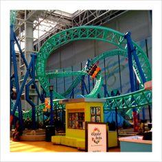 Sponge Bob Square Pants Rock Bottom Rollercoaster inside the Mall of America