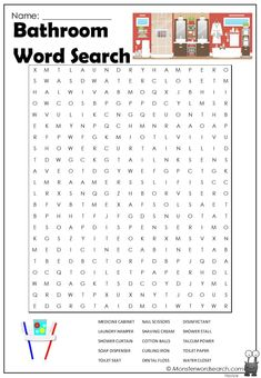 Halloween Word Search, Halloween Words, Cool Coloring Pages, Free Printable Coloring Pages, Book Activities, Preschool Activities, Free Printable Word Searches, Puzzle Games, Teacher Binder