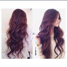 Cuanto desearía tener el cabello largo