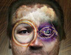 Christopher Walken Mashup, Photoshop, Graphic Design, Art