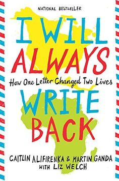 11 top books to read in your teens, including I Will Always Write Back by Caitlin Alifirenka, Martin Ganda, and Liz Welch.