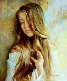 #Portrait #Paintings by Andrei Markin
