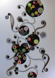 abstract quilling | Intalnire in abstract – 200 RON
