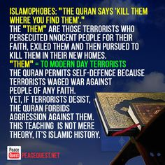 Three facts to unravel the myth that Islam promotes violence. Political Environment, School Stress, The Proclamation, United Way, Islamic Teachings, Islamic Messages, Social Services, Explain Why