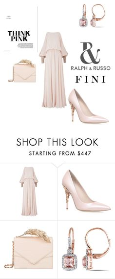 """pink"" by fini-i ❤ liked on Polyvore featuring Amanda Wakeley, RALPH & RUSSO, RALPH and Miadora"