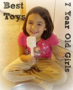 Here you will find the best 7 year old girl toys for a birthday or Christmas. How do I know the top toys for a 7 year old girl? Because I'm the...
