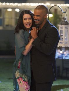 "Criminal Minds - Season 7 - ""Hit/Run"" - Paget Brewster, Shemar Moore"