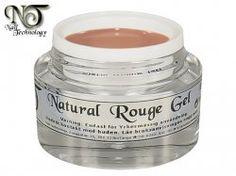 Natural Rouge Gel 15 ml : Nail Technology, nagelprodukter för professionellt bruk!
