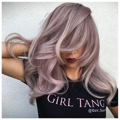 Smoky Lavender Perfection from @guy_tang Any Girl Tangs out there? ・・・ #cosmoprofbeauty is proud to support all who are #licensedtocreate ・ ・ ・ ・ #repost #guy_tang #girltang @hairbesties_ #hairbesties_ #hairbesties #lavenderhair #gorgeouscolor