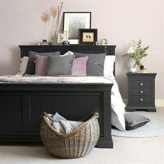 Sue Ryder Large Grey Oval Laundry Rattan Wicker Baskets Bedroom Hallway Storage Shabby Chic