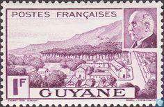 1941 French Guiana - Marshal Pétain