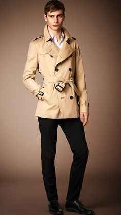Trench Coats for Men | Burberry | Mens quilts, Puffer jackets and ...