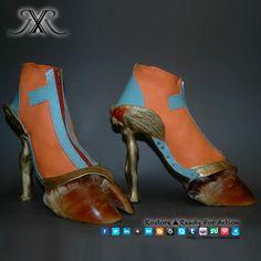 Sapatos bizarros ou arte? Você é que decide..