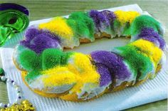 Healthy King Cake, say what?!?! via www.claimyourjour...
